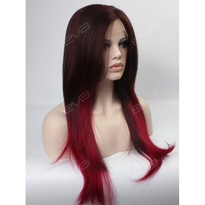 Ombre Synthetic Lace Front Wigs 5