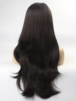 Long Straight Everyday Style Synthetic Lace Front Wig