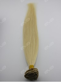 #613 Platinum Blonde 100% Vigin Human Hair Clip In Hair Extension