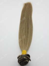 #7 Light Natural Brown Clip In Human Hair Extension