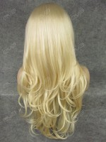 Golden Wavy Synthetic Lace Front Wig