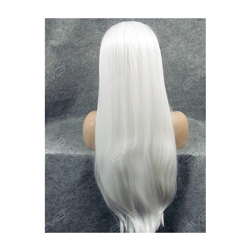 Long Thick White Wig 112