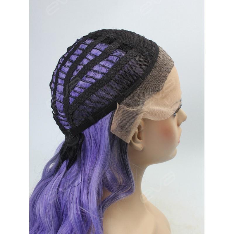Dark Purple Lace Front Wigs White Wigs Online