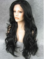 Black Long Wavy Best Seller Synthetic Wig