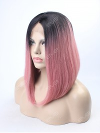 EvaHair Rouge Pink Angled Cut 2017 New Style Synthetic Wig
