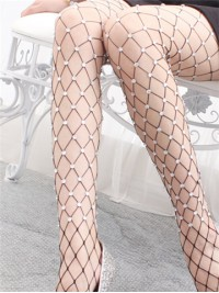 Fishnet With Shine Beads