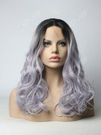 Light Lavender Deep Weave Synthetic Lace Front Wig