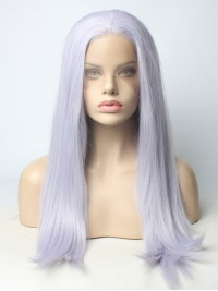 Lavender Sweet Long Synthetic Lace Front Wig