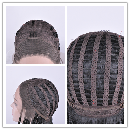 synthetic lace front wig cap construction