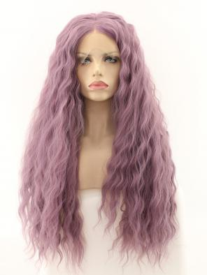 Dusty Lavender Lolita Synthetic Lace Front Wig