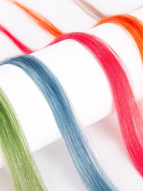 10 Colored Clips in Hair Extensions
