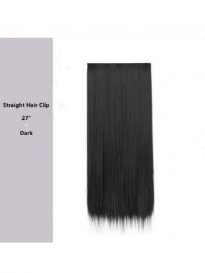 "Evahair 27"" Dark Hair Clip in Hair Extensions"