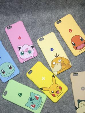 [Pokemon] Cute Colorful iPhone Phone Case