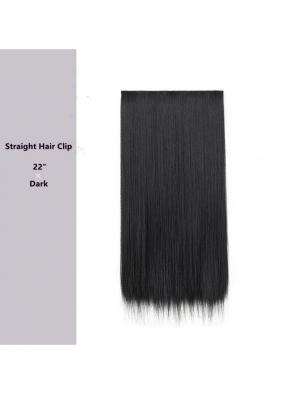 "Evahair 22"" Dark Hair Clip in Hair Extensions"
