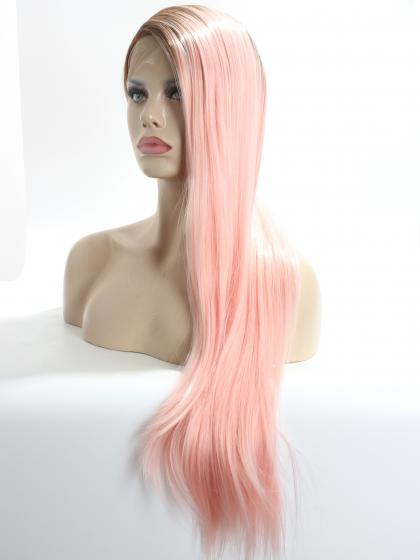Pink Ombre Super Long SYNTHETIC LACE FRONT WIG