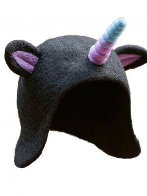 Magic Elf Unicorn Dark Mori Hat