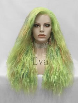 Evahair Verdancy Long Wavy Synthetic Lace Front Wig
