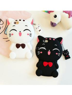 Cute Lucky Kitty Cat iphone Phone Case